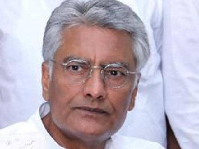 Former Punjab Congress legislature party leader Sunil Jakhar.