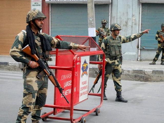 Jammu and Kashmir,BSF,Srinagar