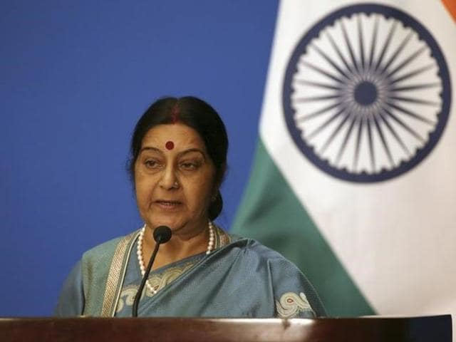 External affairs minister Sushma Swaraj on Sunday appealed to Indian workers who have lost their jobs in Saudi Arabia to return home.