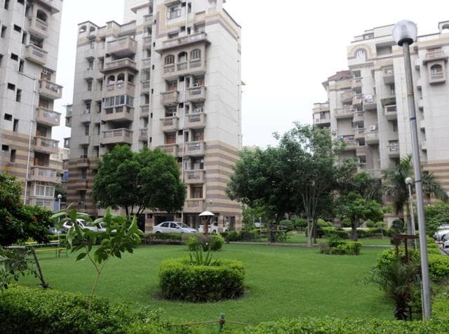 Household helps have been issued identity cards for easy access to the residential complex.