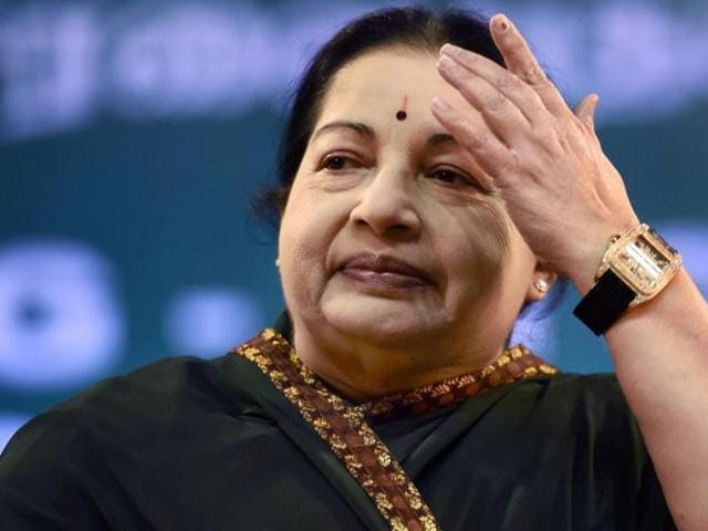 The Tamil Nadu government has filed over 200 defamation cases in the last five years for 'derogatory remarks' against chief minister J Jayalalithaa.(PTI)