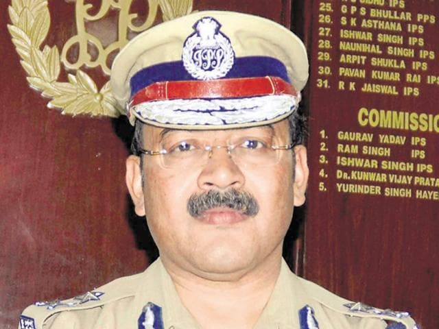 The DTO had met police commissioner Arpit Shukla (above) and submitted the report to him and requested him to take action.