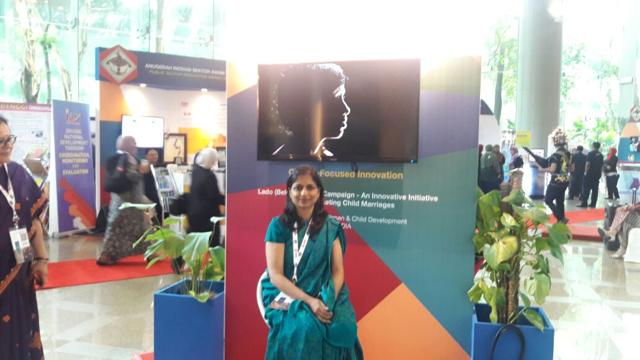 IASofficer of MP cadre Kalpana Shrivastava