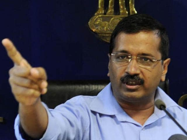 Delhi chief minister Arvind Kejriwal said the RSSchief should set an example himself before inciting Hindus, over concerns of declining Hindu population.