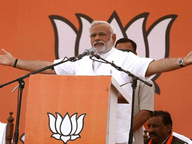 Narendra Modi had addressed a rally in Amethi  seeking support for Smriti Irani in the run-up to the 2014 general elections.