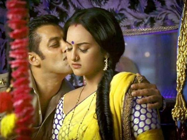 Sonakshi played village belle Rajjo, wife to superstar Salman Khan's Chulbul Pandey in the previous two parts of the hit action franchise.