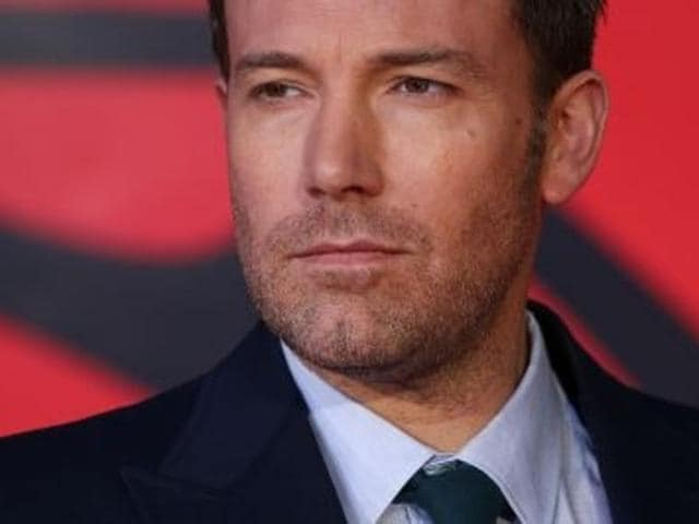 Affleck is currently filming Batman v Superman: Dawn of Justice follow up Justice League in London.