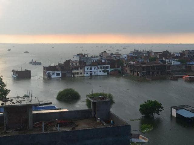 UP flood situation