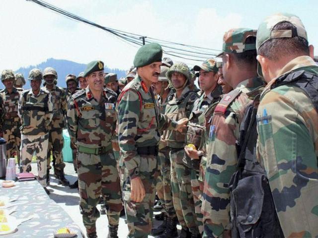 Jammu and Kashmir,Dalbir Singh,Army Chief