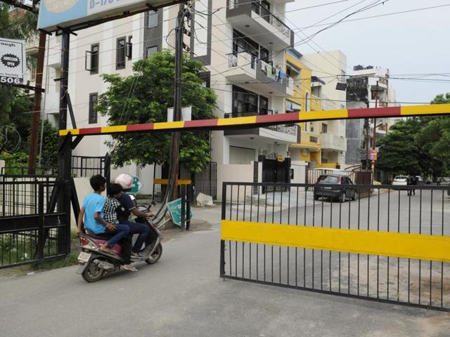 City residents expressed concern at the city magistrate's letter, in which Singh directed all RWAs to strengthen security by erecting boundary walls, gates, barriers and CCTV cameras.