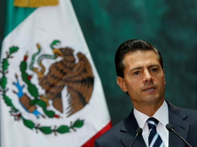 Mexico's President Enrique Pena Nieto studied at Mexico's Panamerican University