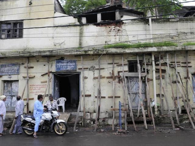 MP floods,flood evacuation drive,unsafe houses in Bhopal