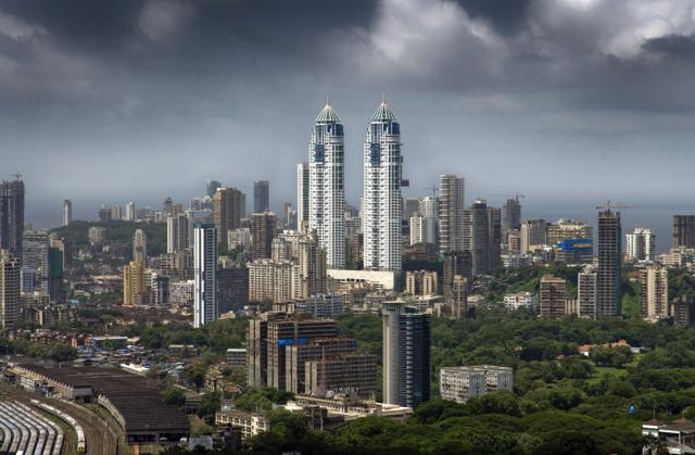 A file photo of skyline of Mumbai, the commercial capital of the country. India stood at No. 7 in the list with a total individual wealth of $5,600 billion.