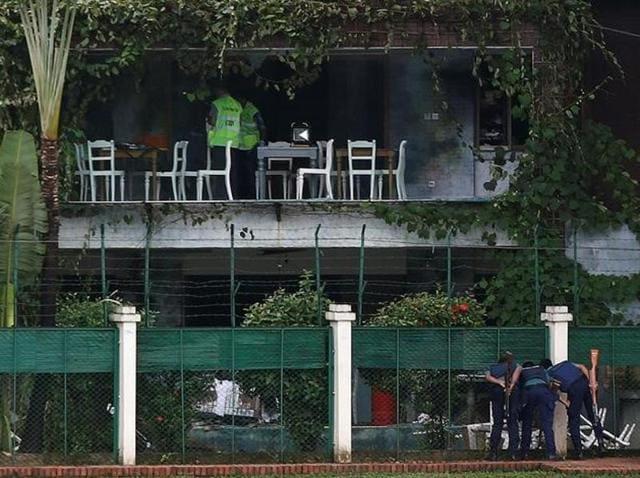 Bangladesh cafe attack,Terrorists,DNA test