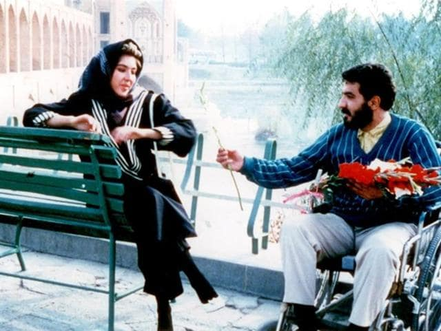A scene from Mohsen Makhmalbaf's The Nights of Zayandeh-Road.