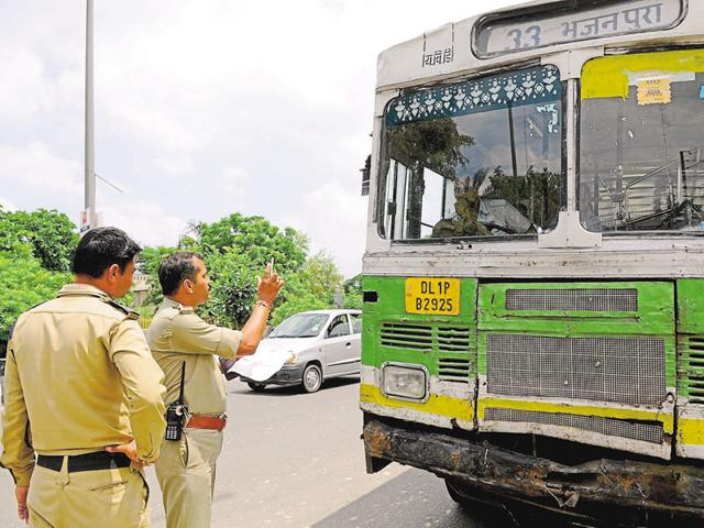In a week-long drive against erring bus drivers and owners, traffic police have seized seven buses and challaned 125 for violations on the first two days of the exercise.