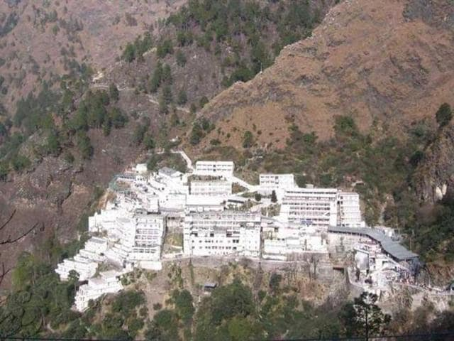 A CRPF head constable died in a landslide at the Vaisno Devi shrine in Jammu on Wednesday.