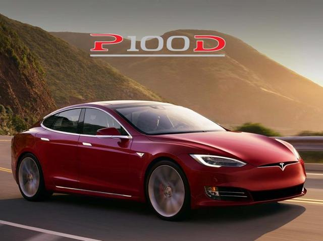 "A Model S P100D with ""Ludicrous mode"" can clock from zero to 60mph (96kph) in 2.5 seconds."