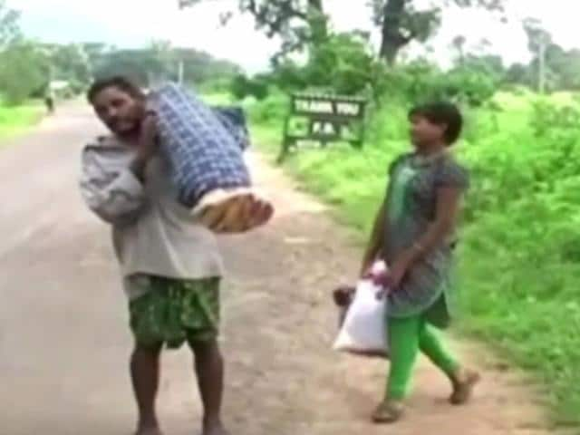 Dana Manjhi carried his wife's body on shoulders as he was denied a mortuary van or ambulance by hospital authorities.