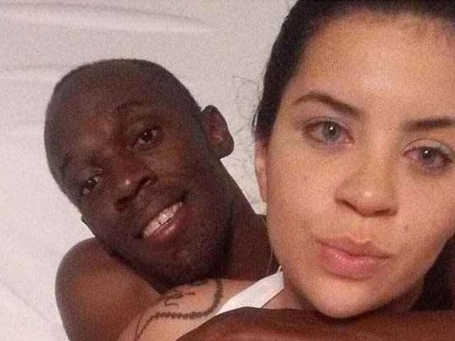 Jady says she and Bolt stayed up in bed until 9am, listening to songs and clicking selfies.