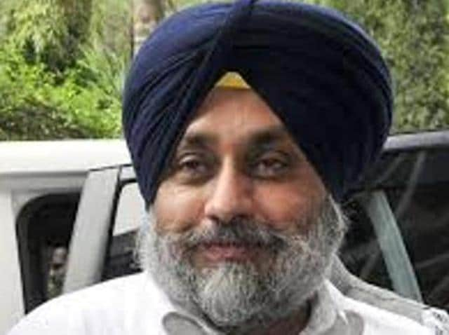 Punjab home minister and deputy chief minister Sukhbir Singh Badal