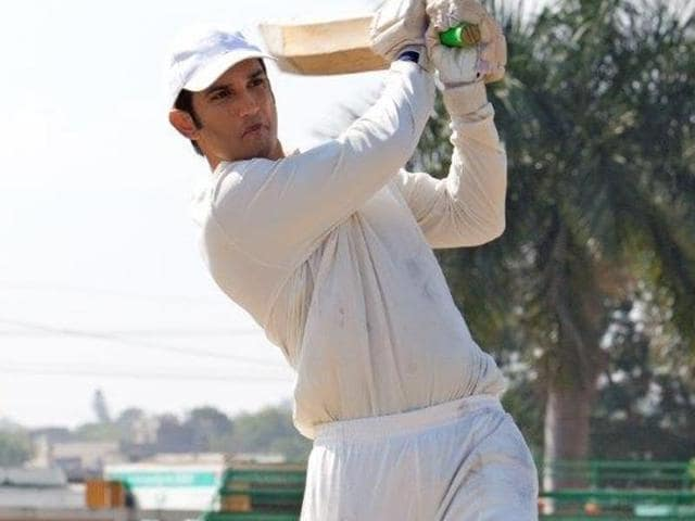 Sushant Singh plays Dhoni in Neeraj Pandey's biopic on the cricketer.
