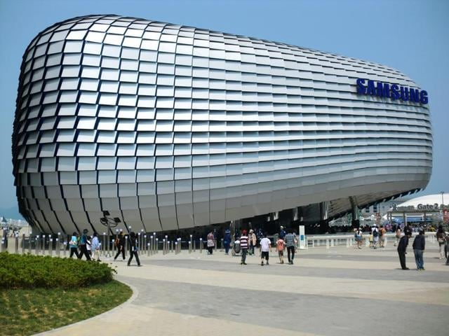 Moody's Investor Service also warned that Samsung's profit margins might narrow in the second half because of seasonal factors in the consumer electronics business and competitive pressures.