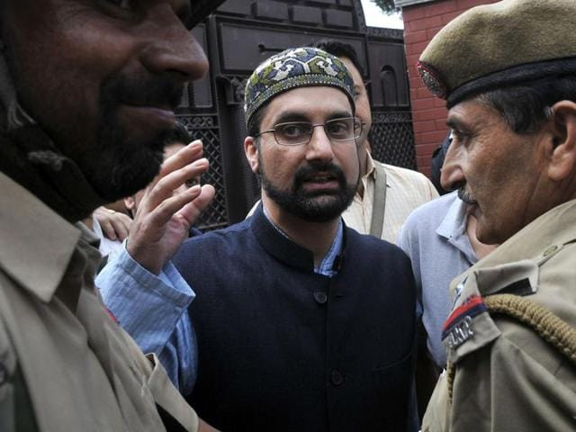 """Mirwaiz Umar Farooq said the unrest in the Kashmir Valley is a """"political problem"""" which requires a """"political solution""""."""