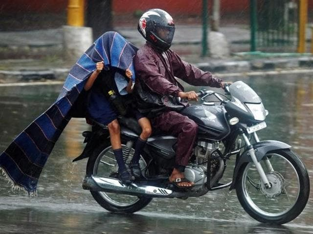 India has so far received 2 percent lower rainfall than normal since the start of the monsoon season on June 1.