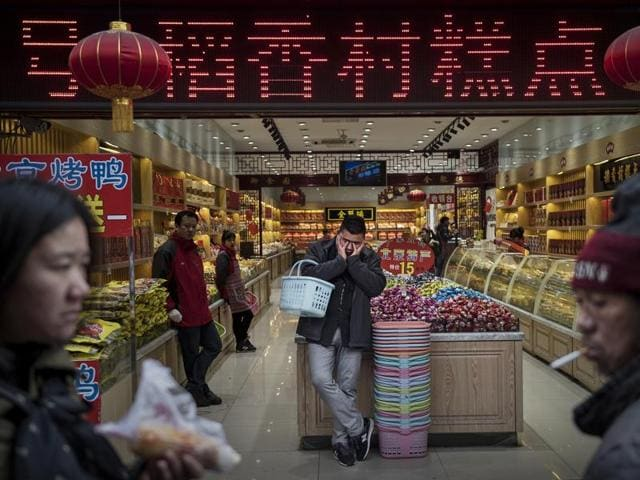 Sudden shifts in fortune: Last year, China's economic growth slowed to its weakest point in years