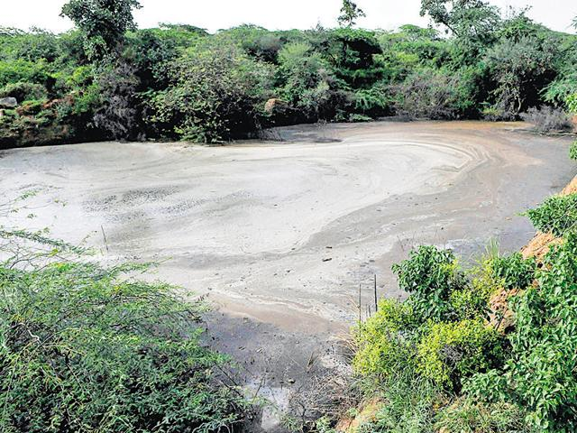 HT had earlier reported that leachate is leaking from the Bandhwari plant and getting collected at a large lake in the Aravalli forest area.