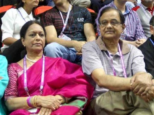 Saradha chit fund case,Saradha chit fund,Nalini Chidambaram