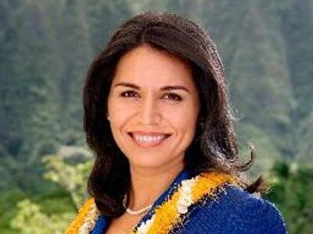 The 35-year-old Democratic representative Tulsi Gabbard (in picture) is seeking a third term from Hawaii