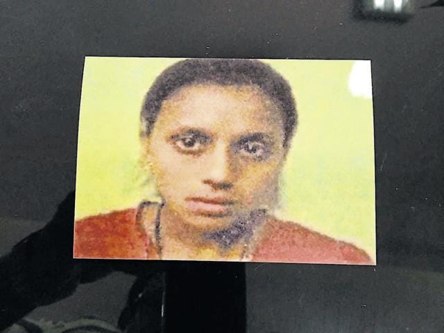 Twenty-one year-old Pooja who was strangled by her husband and sister on Wednesday evening.