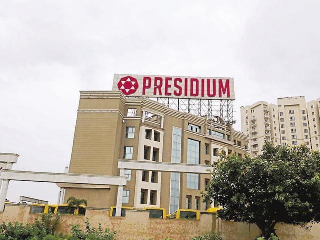 Presidium,mollestation case,Gurgaon