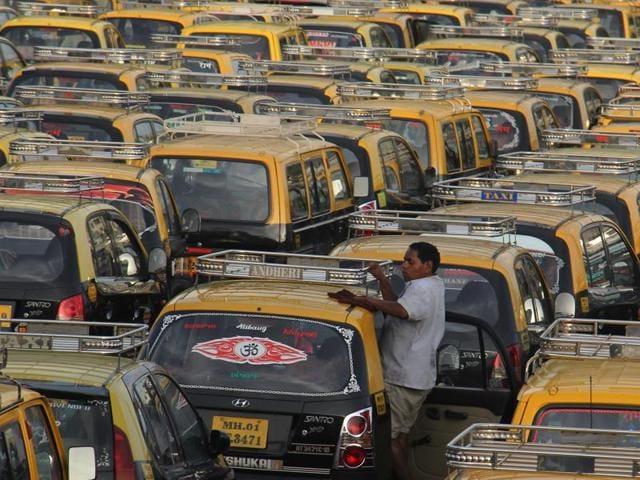 auto-taxi strike
