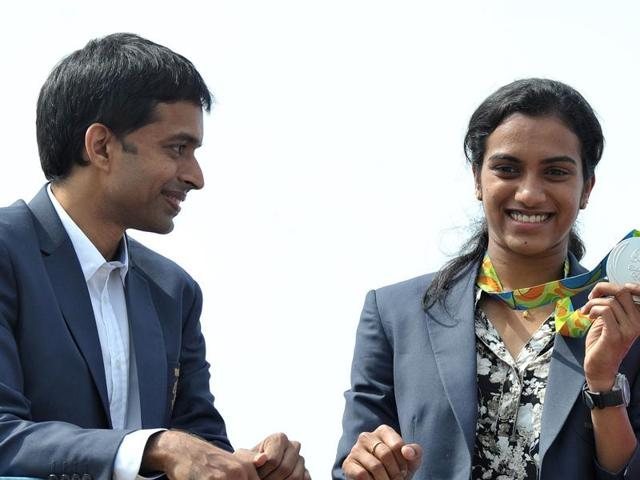 Sindhu refused to comment on Mahmood Ali's better coach remark, saying Gopichand is the 'best coach' for her.