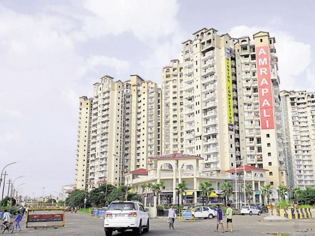 Amrapali Saphhire residents had complained to the regulatory commission in June this year.