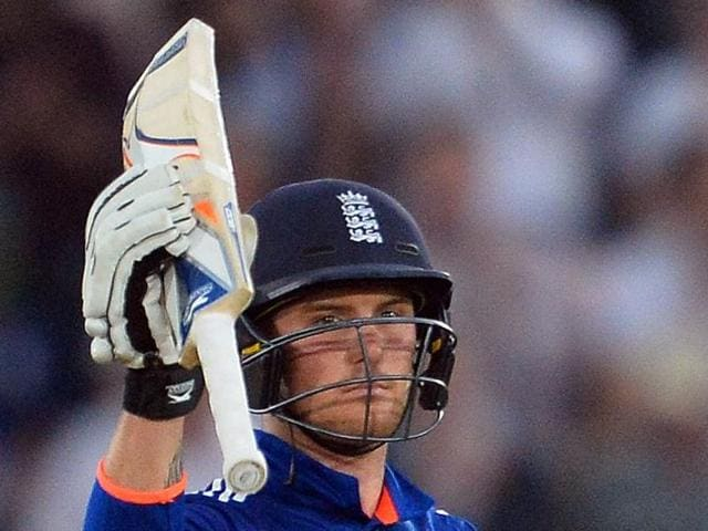 Jason Roy's 65 took England past the required score before the third rain interruption resulted in the implementation of the Duckworth/Lewis method.