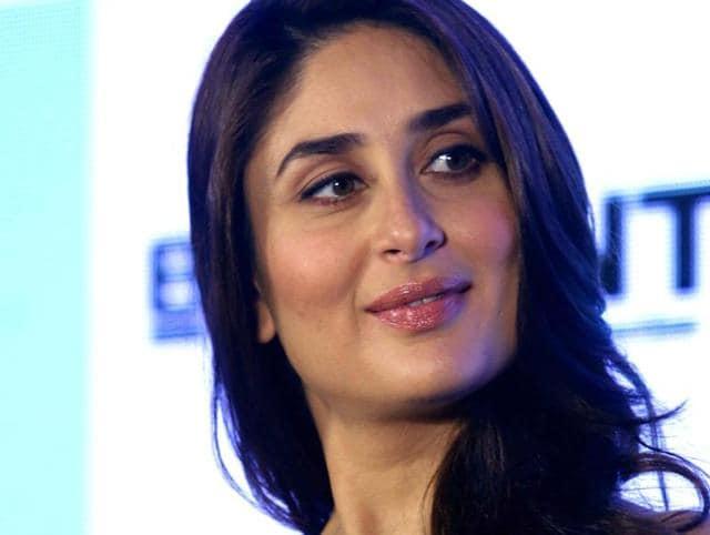 Kareena Kapoor Khan poses for a photograph during a promotional event in Mumbai.