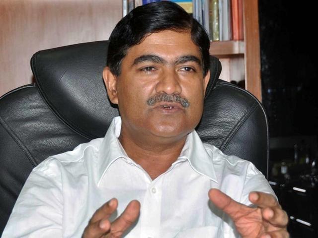 Former Noida authority CEO Rama Raman.