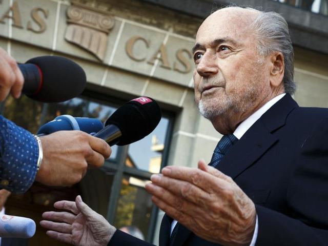 Sepp Blatter,Michel Platini,Fifa