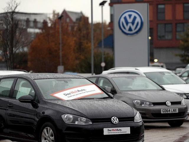 VW's US dealers have been barred from selling polluting diesel vehicles for nearly a year.