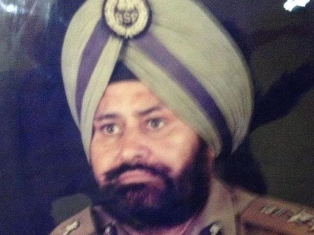 Retired Border Security Force (BSF) commandant Narinder Singh