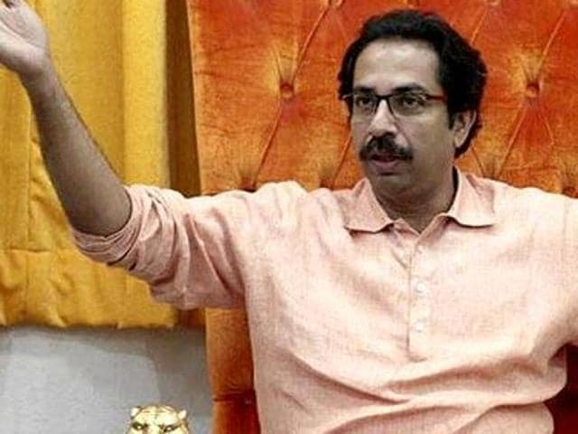 The Uddhav Thackeray-led party said every person has the right to personal liberty under Article 21 of the Indian constitution.(HT PHOTO)