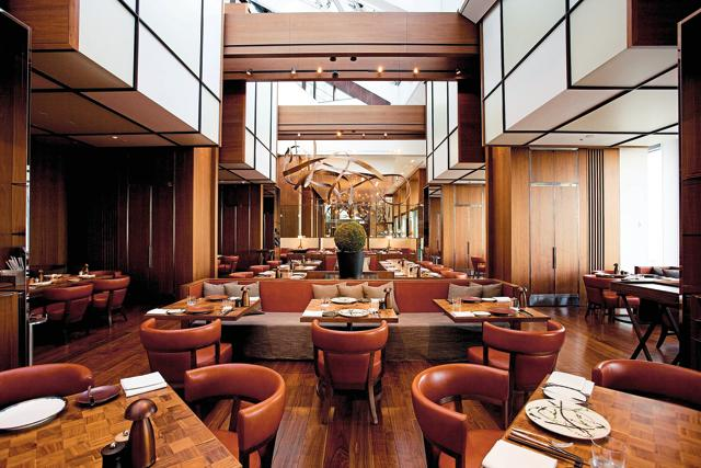 A file photo of the Andaz, Tokyo. Hyatt, which opens the first Andaz in Delhi this year, is just one of many chains setting up shop here.