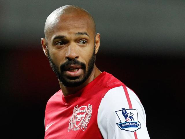 Afile photo of former French striker Thierry Henry.