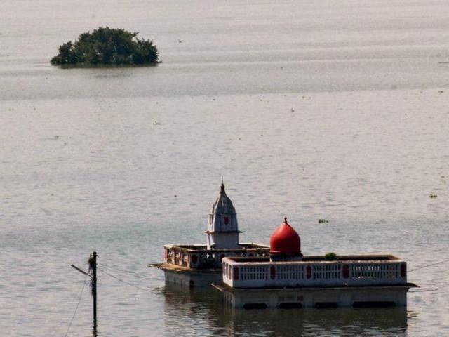India floods,UP river floods,Bihar floods
