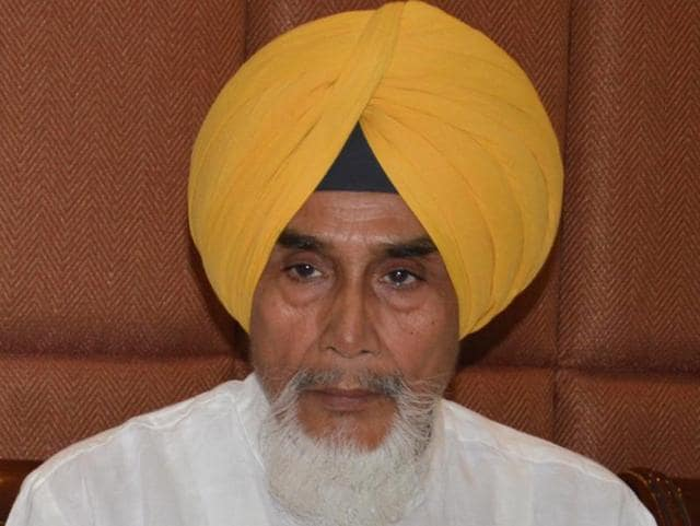 The Aam Aadmi Party's Punjab unit chief Suchha Singh Chhotepur