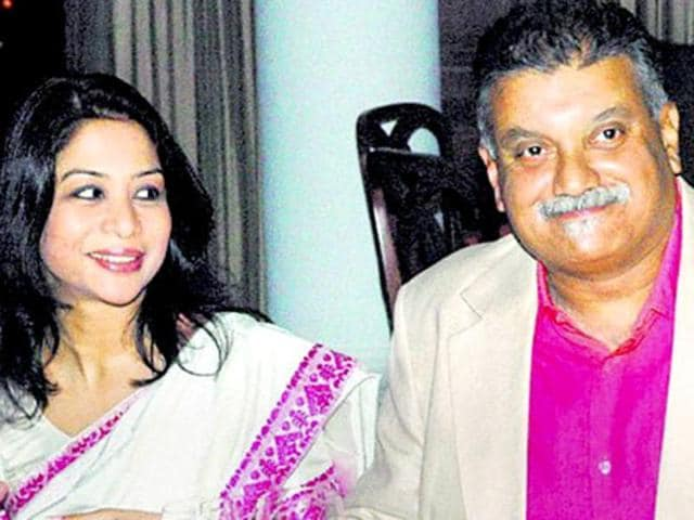 Indrani Mukerjea and her husband Peter Mukerjea(PTI File Photo)